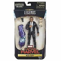 Marvel Captain Marvel Movie 6-inch Legends Nick Fury action  figure NEW