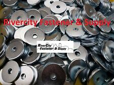 """(100) Extra thick Heavy Duty Fender Washers 5/16"""" x 1-1/4 """" Large OD 5/16x1-1/4"""