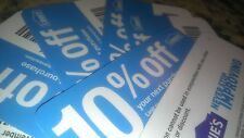 1 Lowes 10%-Off-Coupon Blue Cards!! Expires 10/31/2017 WILL WORK AT LOWES