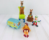 Lot Of Scooby-Doo Velma Scooby Shaggy Action Figures Toys