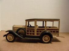 Hubley Ford Model A Station Wagon_Brown