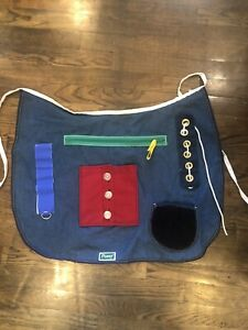 Posey Activity Fidget Apron Occupation Therapy Alzheimer's Dementia One Size