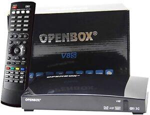 OPENBOX V8S FREESAT BOX SATELLITE RECEIVER New*