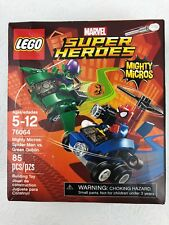LEGO Spider-Man vs. Green Goblin Mighty Micros Spiderman Copter Glider New