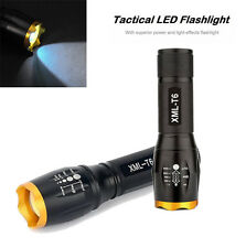 4000LM Zoomable Cree XM-L T6 LED Tatical Flashlight Waterproof Military Torch