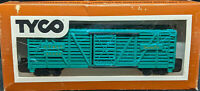 TYCO: Santa-Fe AT&SF 80680. BLUE 40' STOCK CAR VINTAGE HO. 312:E