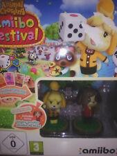 Animal Crossing: Amiibo Festival (2 Amiibos+3 Tarj).Wii U.CAJA DESGASTADA.NUEVO.