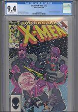 Uncanny X-Men #202 CGC 9.4 1986 Marvel Comics Beyonder & Sentinels App