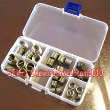 New 30x Helicoil Stainless Steel Thread Repair Insert Assortment Kit M8 M10 M12