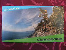 BRAND NEW ~ CANNONDALE 2014 FOLD OUT ~ MOUNTAIN BIKE 29R LEFTY TRAIL CATALOGUE