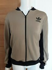 Brand New Womens Adidas Tracksuit Top With Matching Crop T Shirt UK 14