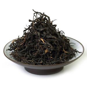 GOARTEA 250g Lapsang Souchong Black Loose Leaf Tea Golden Buds (No Smoky Taste)
