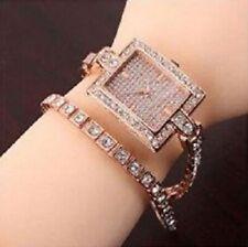 Elegance Austrian Rhinestone in Rose Gold 18K Plated Watch