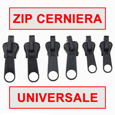 zip zipper fix 6 pz. universale sostituzione cerniere riparazione borse zaini nl