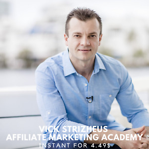 Vick Strizheus - Affiliate Marketing Academy Course Collection  🍋 Value $997