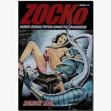 Zocko 10 cósmica magia horror erotismo cómic Science Fiction chacó nuevo