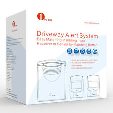 1Byone Safety Driveway Patrol Infrared Wireless Alert Alarm System Two Sensors