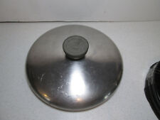 """Vintage Revere Ware Stainless Steel Pot Pan LID ONLY 7"""""""