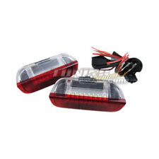 2x LED SMD Iluminación Puerta Interior Rojo/Blanco #1 Para VW Seat Skoda