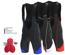 Mens Cycling  Bib shorts Gel Padded Stylish Cycling Bib Tight Shorts By Hera