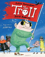 Julia Donaldson Story Book: THE TROLL - Paperback 2019 - NEW