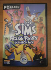 THE SIMS HOUSE PARTY EXPANSION PACK - PC CD-ROM