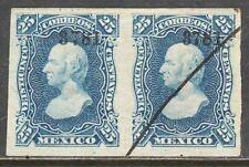 MEXICO-Guadalajara 109c, 25¢ 3781 IMPERF. HORIZONTAL PAIR. ORIG. GUM VF. (11)
