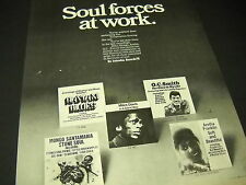 SOUL 1969 promo display ad O.C. SMITH Mongo Santamaria ARETHA FRANKLIN others