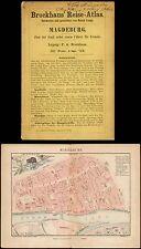 Atlante guida turistica-Magdeburgo-Brockhaus per 1850
