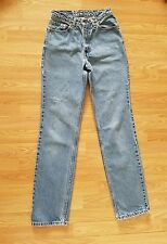 Levis 512 Vtg 90s Womens Light High Waist Red Label Tapered Mom Jeans Size 26