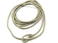 Stockyard Saddlery Tan and White 18' Poly Youth Lariat Rope horse tack equine
