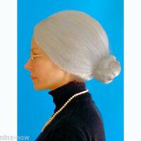 Granny Mrs Santa WIG Fancy Dress Costume HIGH QUALITY Wig Soft and Washable