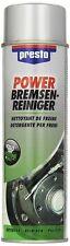 18x Presto Power Bremsenreiniger 500 ml Dose, Reiniger Entfetter 315541