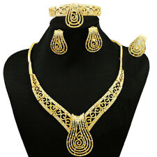 New Bold Cheap Sales Clearance Gold Custom Necklace Jewellery Set UK Delivery