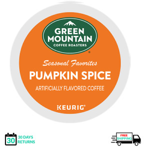 Green Mountain Pumpkin Spice Keurig Coffee K-cups YOU PICK THE SIZE