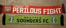 MLS and USA Soccer Scarf 2 Pack SOUNDERS AND USA SOCCER