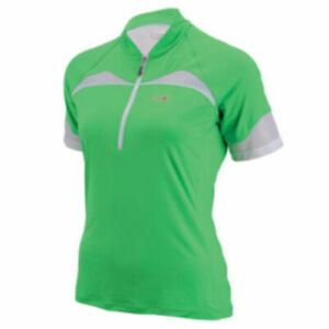Louis Garneau Women's Skin-X Short Sleeve Jersey Green Size Medium