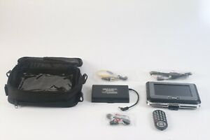 """Delvcam 5.6"""" LCD Color Mini LCD Monitor W/ Battery Pack , Car Charger Cable"""