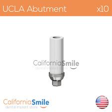 10x Titanium base UCLA Original Abutment For Dental Implant Internal Hex