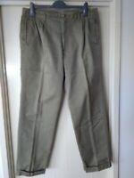 mens Sportscraft Pants, Green, Size 92, 100% Cotton
