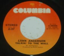 Lynn Anderson 45 Talkin' To The Wall / I Want To Be A Part Of You