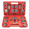 21pcs Disc Brake Caliper Tool Set and Wind Back Kit for Brake Pad Red