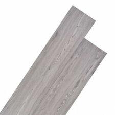 vidaXL Listoni per Pavimentazione in PVC 5,26 m² 2mm - Grigio Scuro (245168)