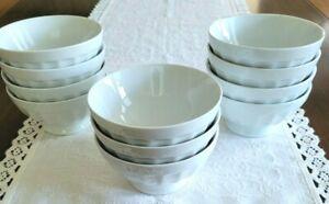 Apilco Cafe Au Lait Bowl ribbed 5 1/2 x 2 3/4''sold separately excellent shape.