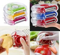 3 In 1 Multi Cutter Stainless Steel Vegetable fruit Peeler  Kitchen Gadget tool