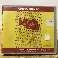 The Middlesteins by Jami Attenberg ExLibrary 6 CD Unabridged Audiobook Free Ship