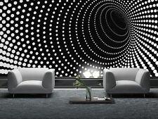 Mural De Papel Negro de Foto Abstracto Gigante Pared Decoración Papel Cartel Para Dormitorio