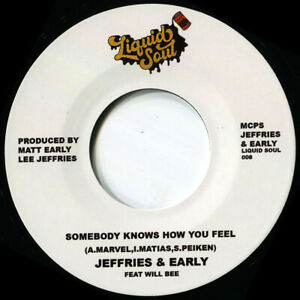 JEFFRIES & EARLY SOMEBODY KNOWS HOW YOU FEEL Soul Northern Motown
