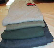 Wilson Sweat Pants Small 4 Pair 4 Color 2 Side Pockets Elastic Draw String 50/50