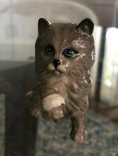 Royal Doulton Gray Cat with Bandaged Paw Estate
